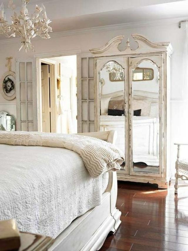 chambre-déco-miroir-rustique