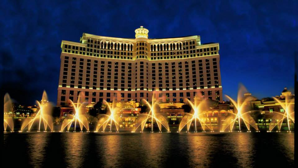 The Bellagio Las Vegas s+a filmat Oceans Eleven