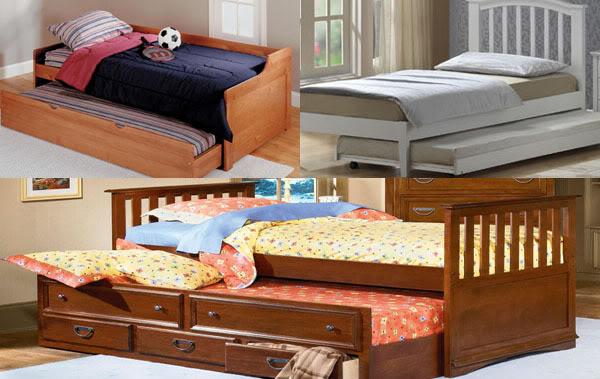 Paturi pentru cei mici cu spa iu de depozitare home deco for Canapele extensibile de o persoana