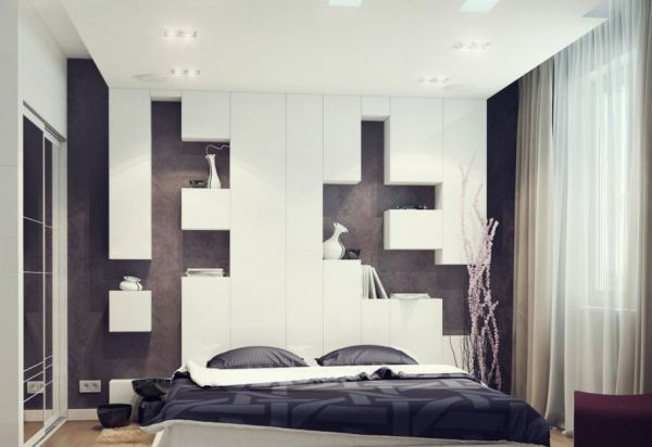 Fabuous-small-bedroom-embraces-minimalism-with-style