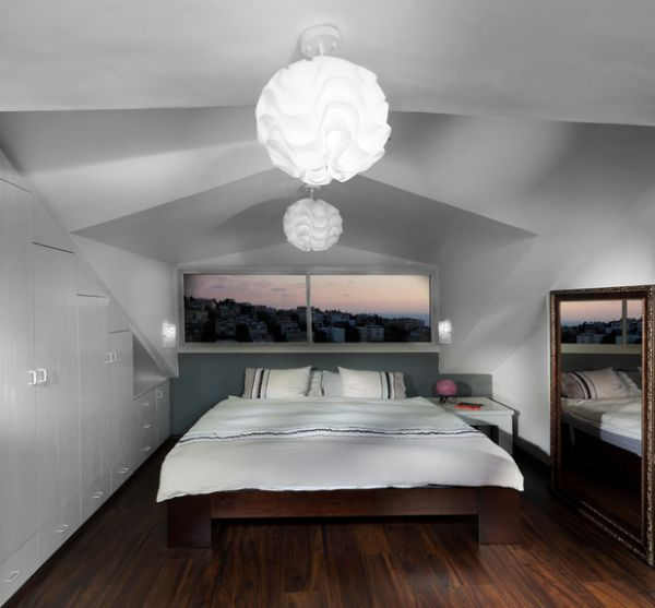 Pendant-lights-mirror-and-the-window-above-the-bed-bring-in-a-sense-of-openness