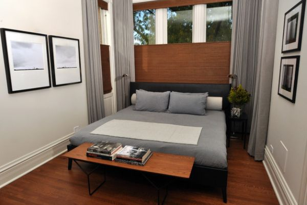 Warm-wooden-tones-combined-with-soothing-gray-in-a-compact-bedroom
