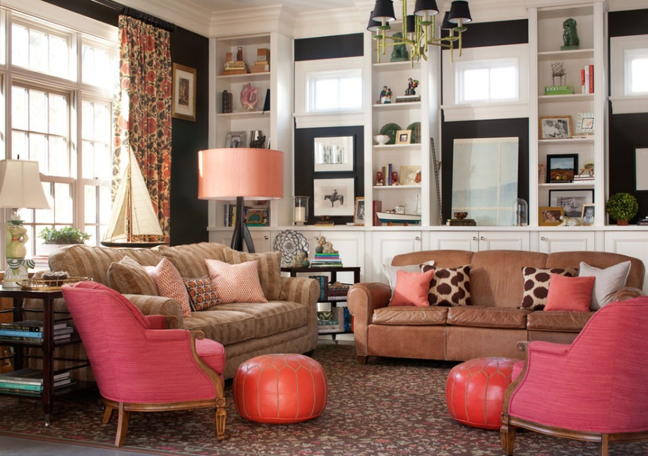 pink-and-black-room