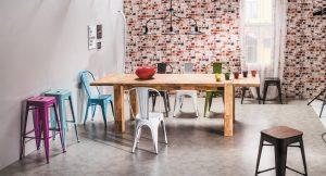 scaune stil loft industrial