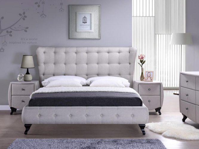 Paturi tapitate pentru dormitor