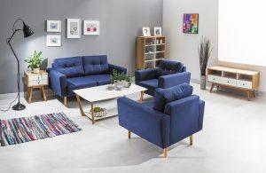 canapea și fotolii în stil ecletic